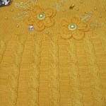 بافت دخترانه لباس پاییزه وزمستانه دخترونه (2)