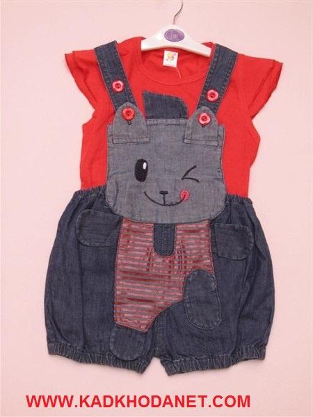 لباس سرهمی باتیشرت بچه (1)