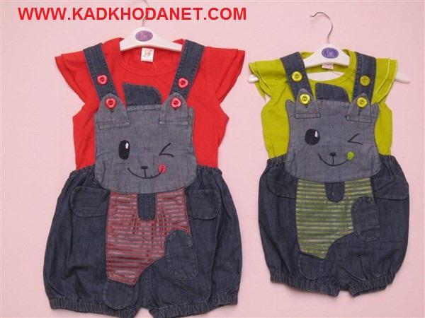 لباس سرهمی باتیشرت بچه (2)