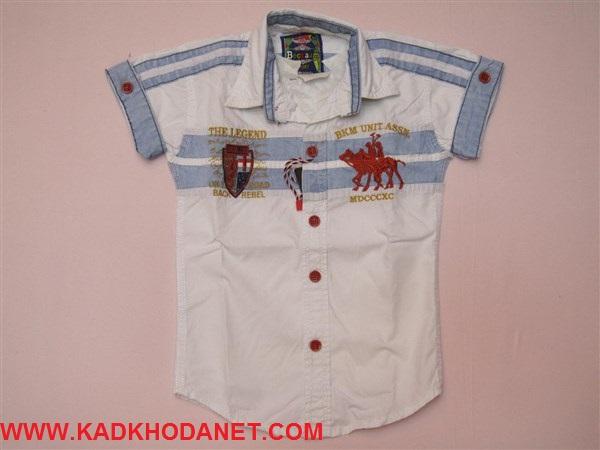 پیراهن کتان بچه پسر (3)