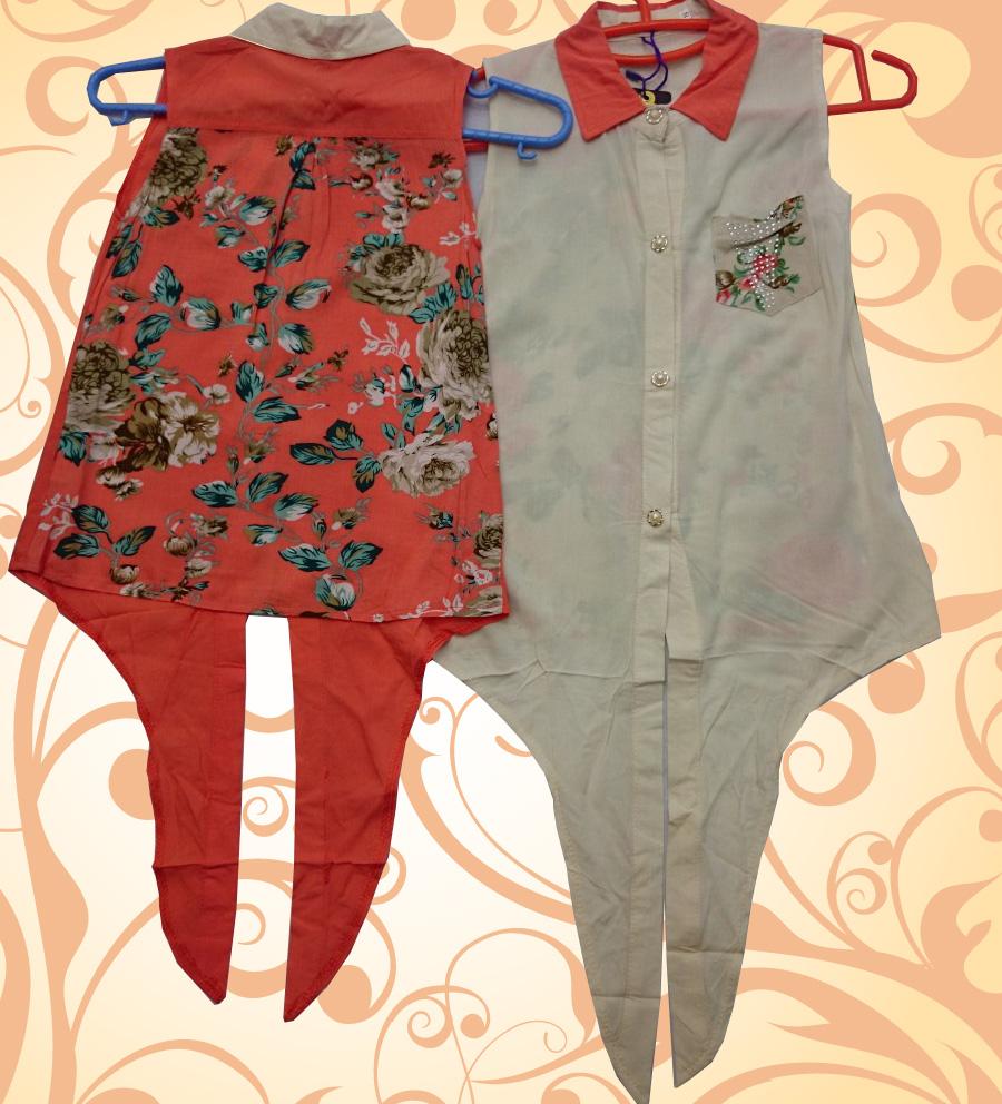 لباس دخترانه گلدار
