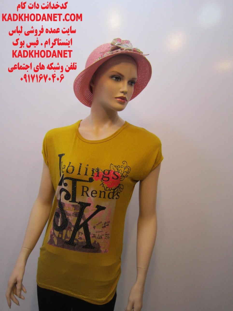 تولید لباس تی شرت زنانه (3)