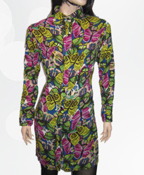 لباس زنان مانتویی