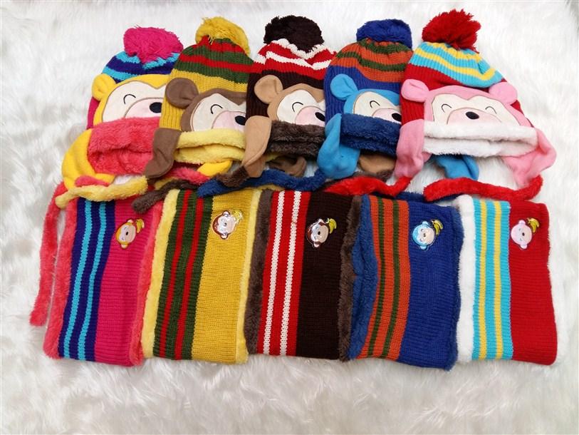 شال و کلاه زمستانه