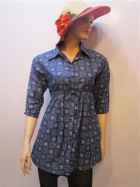 لباس مانتو لی زنانه تایلند T37