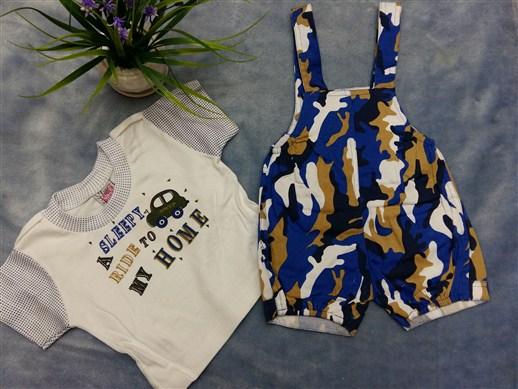 لباس سرهمی نوزادی شیک (1)