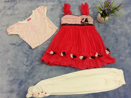 فروش عمده لباس ست هندی دخترانه (4)