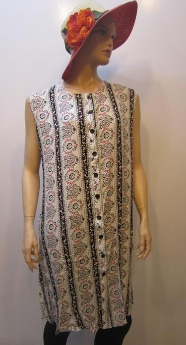 لباس-زنانه-پیراهن-نخی-سایز-بزرگ (2)