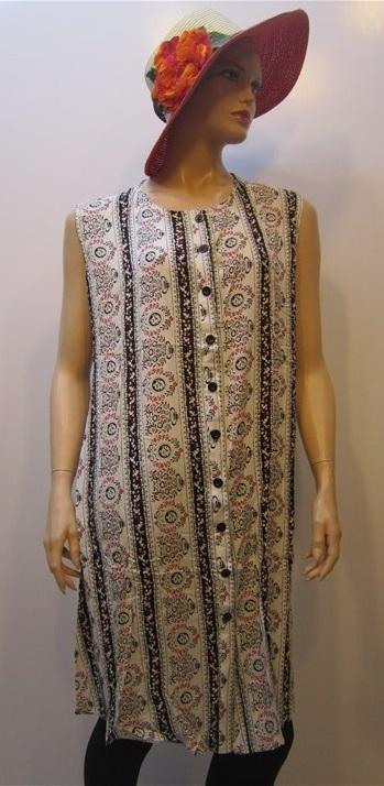 لباس-زنانه-پیراهن-نخی-سایز-بزرگ (4)
