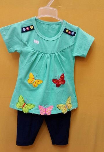 تی شرت و شلوارک بچه گانه پروانه p11