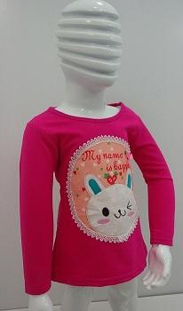 تی شرت دخترانه بچه گانه D577