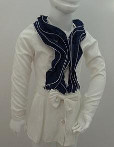 لباس بلوز شومیز چهار فصل دخترانه D568
