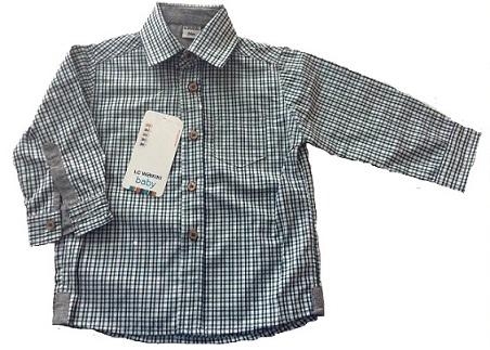 پیراهن چهارخانه پسرانه کدp21