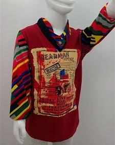 تی شرت پسرانه استین بلند D642