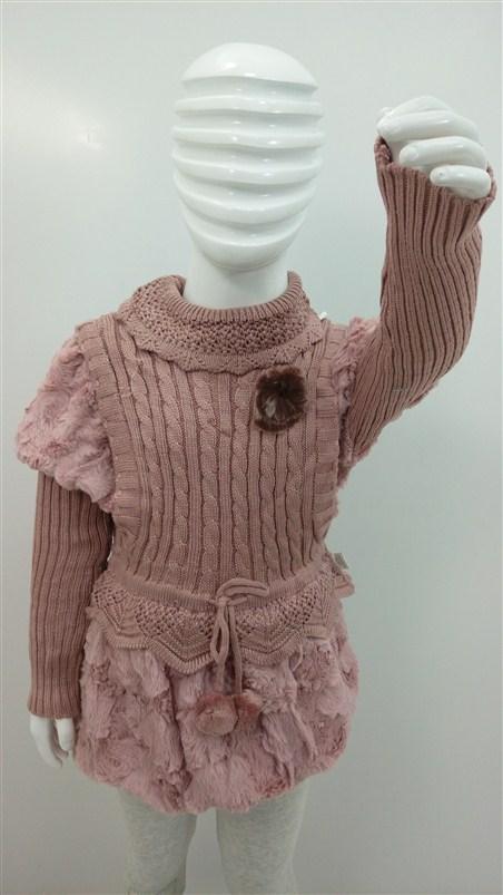 لباس-بافت-دخترانه-زمستانه-بچه (2)