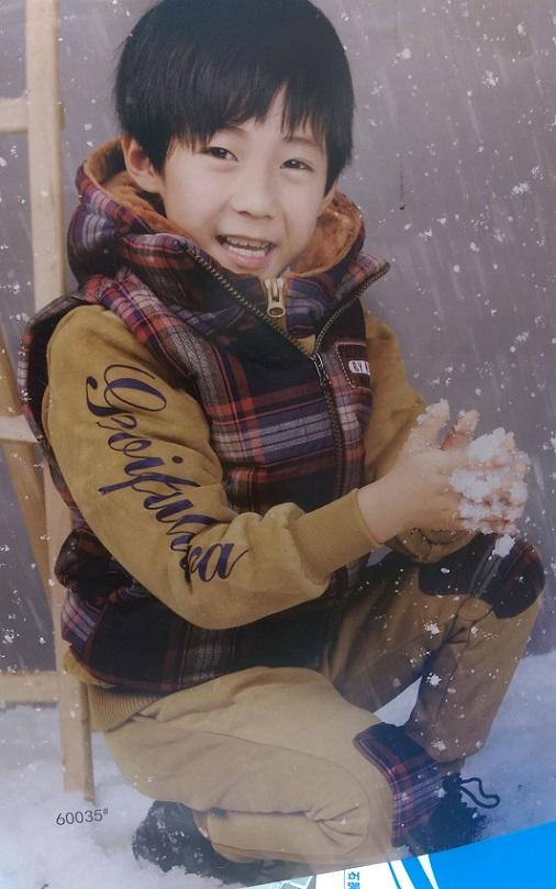 مدل جلیقه بچه بهترین مدل های زمستان | لباس ست سه تیکه برند مارکدار گرم ...