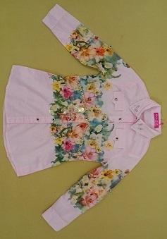 خرید لباس دخترانه مانتو تونیک d674