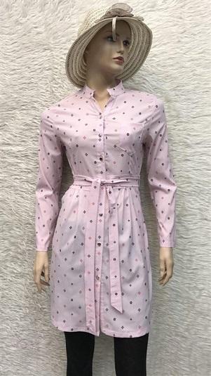 مانتوشیک زنانه پارچه پپلین dz1082