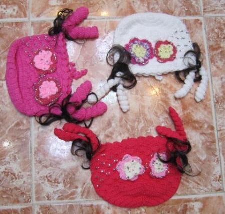 عکس مدل کلاه دخترانه (2)