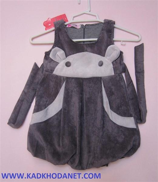 مدل لباس سارافن دخترانه (2)