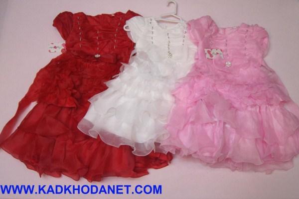 مدل لباس عروس بچه گانه (5)