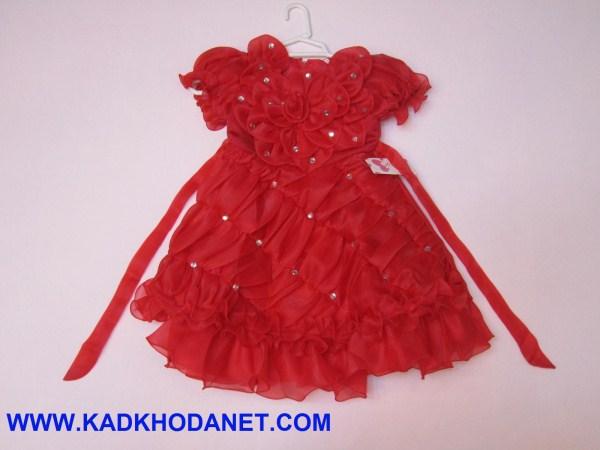 مدل لباس عروس دختربچه (2)