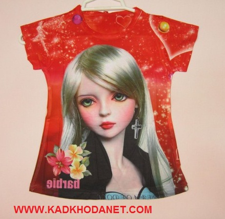 تی شرت باربیک شیک وخوشگل (1)