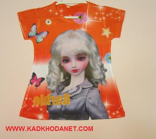 تی شرت طرح باربی (1)
