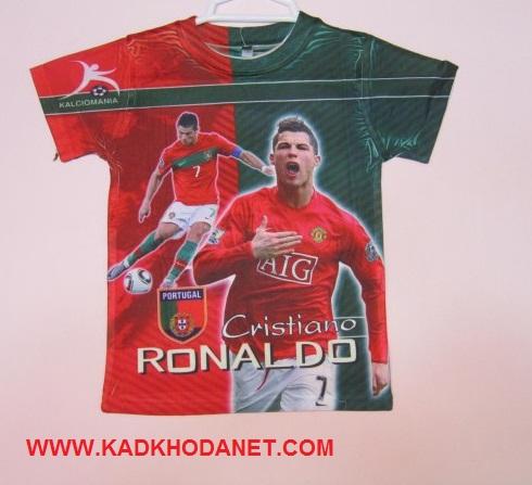 تی شرت طرح ورزشی با طرح رونالدو (1)