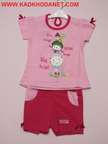 بلوز شرت دخترانه مارکدار (1)