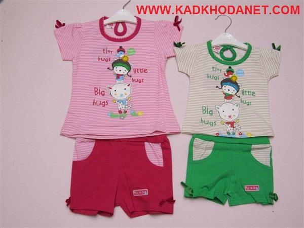 بلوز شرت دخترانه مارکدار (2)