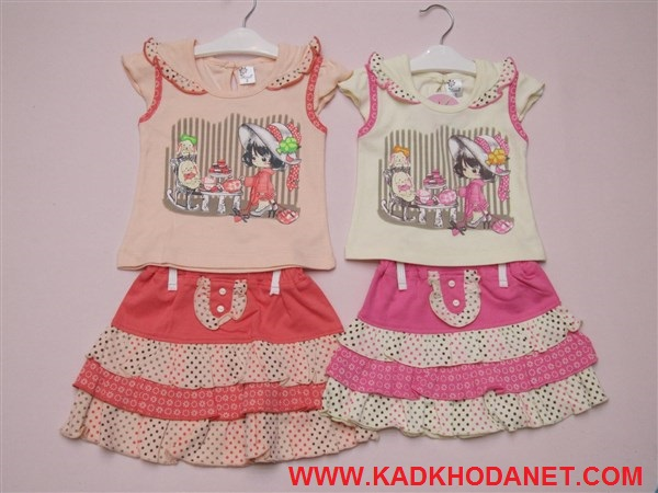 بلوز شرت دخترانه مارکدار (4)