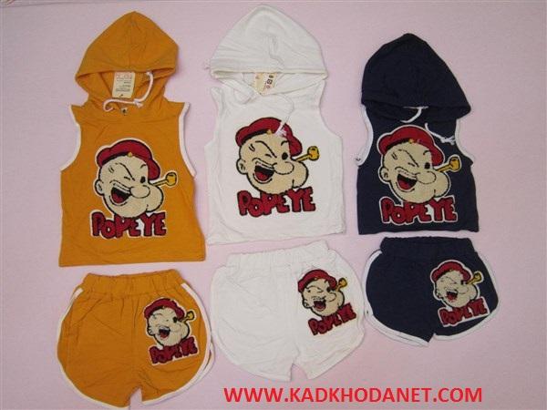 رنگبندی لباس های بچه