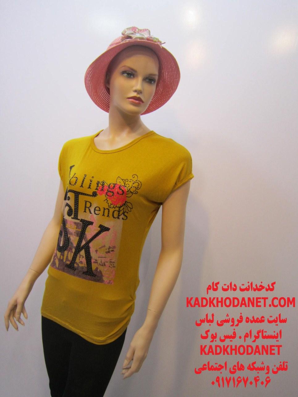 تولید لباس تی شرت زنانه (2)