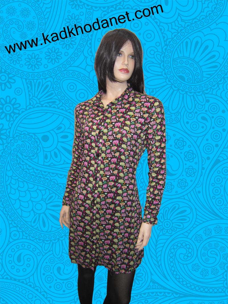 پیراهن تونیک زنانه گلدار