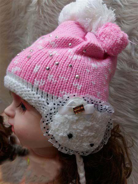 فروش عمده انواع کلاه نوزاد