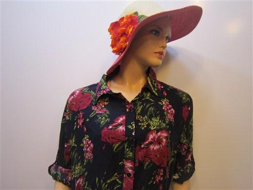 تونیک مانتو گلدار تایلندی (1)