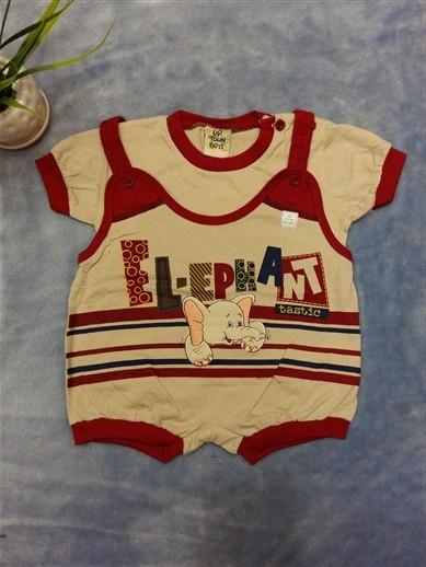 لباس سرهمی نوزادی پسرانه (3)