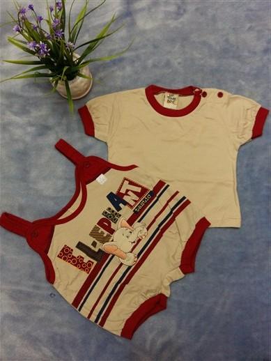 لباس سرهمی نوزادی پسرانه (6)
