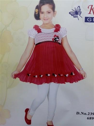 فروش عمده لباس ست هندی دخترانه (2)