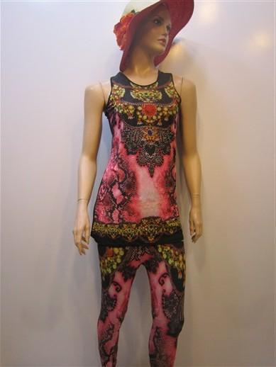لباس سه تکه زنانه شیک (1)