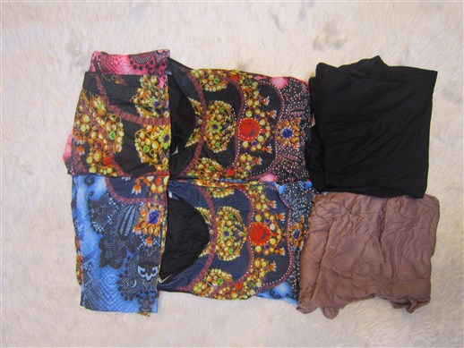 لباس سه تکه زنانه شیک (9)