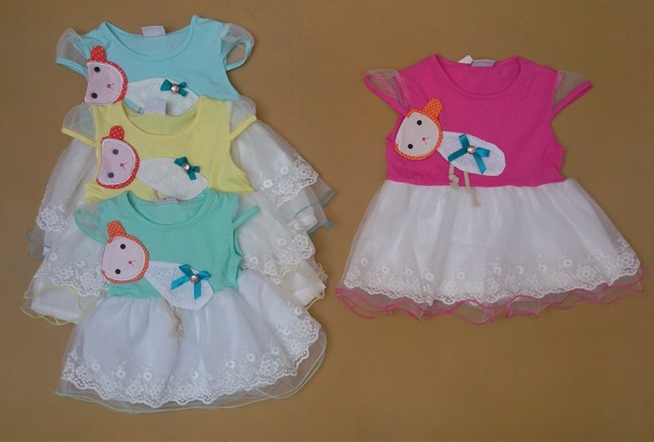 خرید جدیدترین مدلهای لباس تابستانه بچگانه (25)