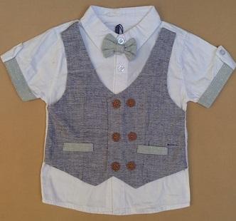 پیراهن مارکدار پسرانه d356