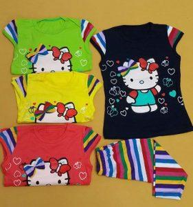تی شرت و شلوارک کیتی R1