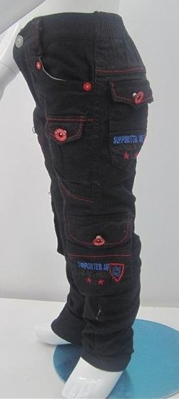 شلوار شش جیب مدل دار شیک (4)