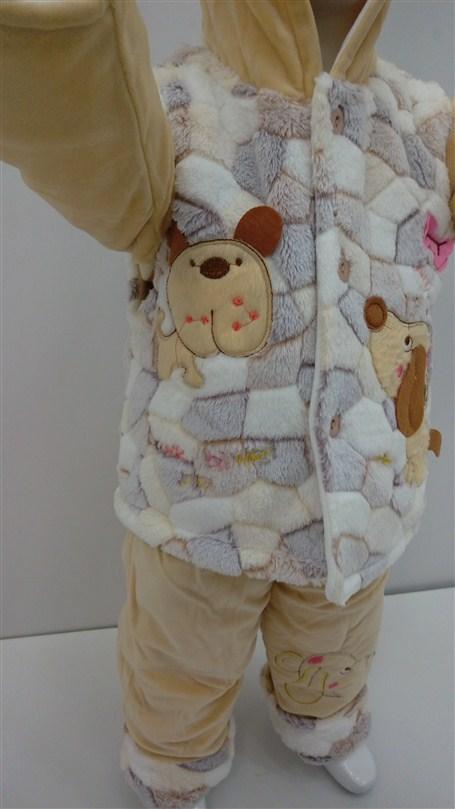 لباس-زمستانه-بچه-گانه-حوله-ای-شیک (2)