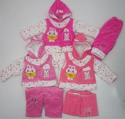 لباس سه یکه شیک بچگانه (5)