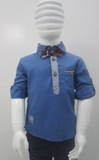 پیراهن پسرانه پاپیون دار (1)