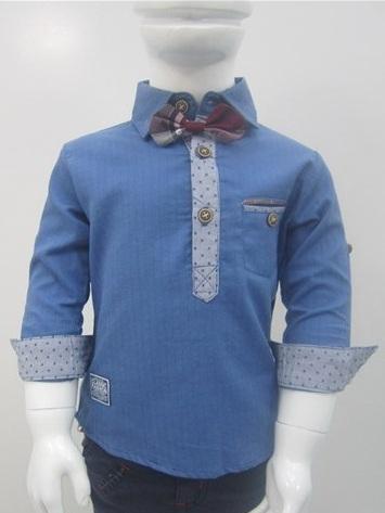 پیراهن پسرانه پاپیون دار (2)